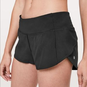 Lululemon Black Speed Up Short  2.5""